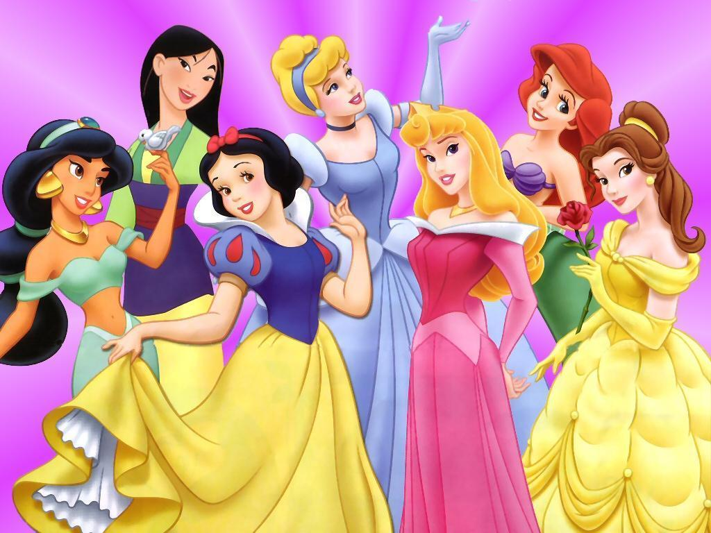 Disney has been marketing their disney princess franchise for well