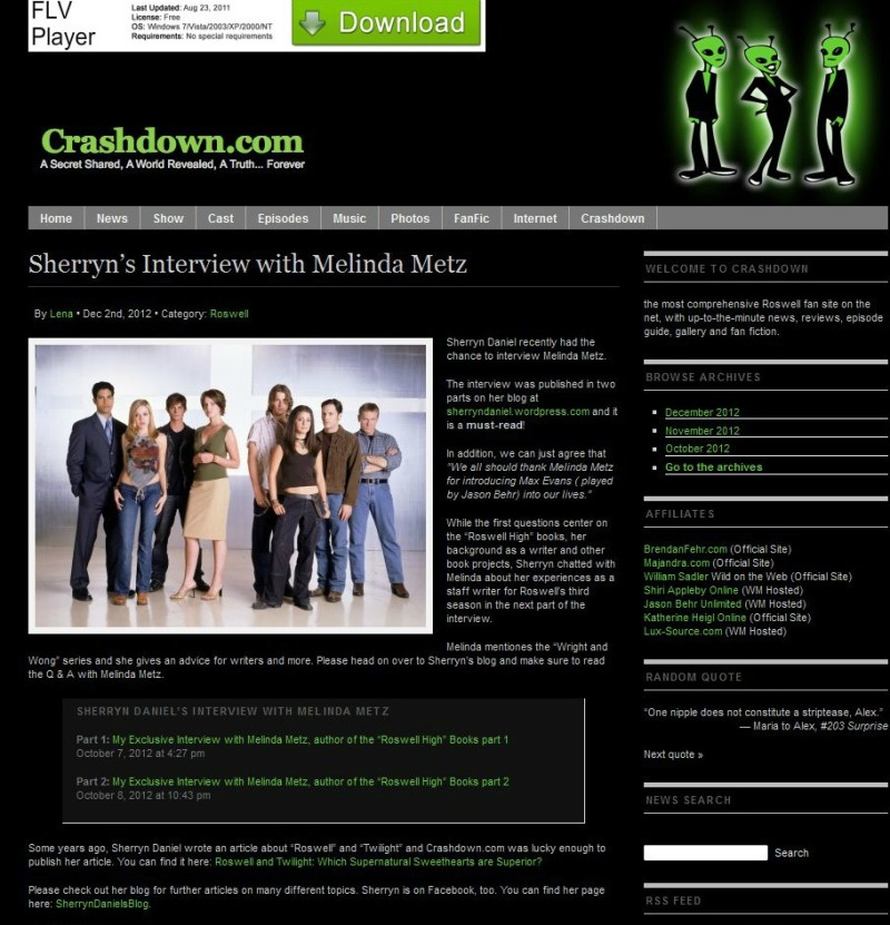 crashdown website