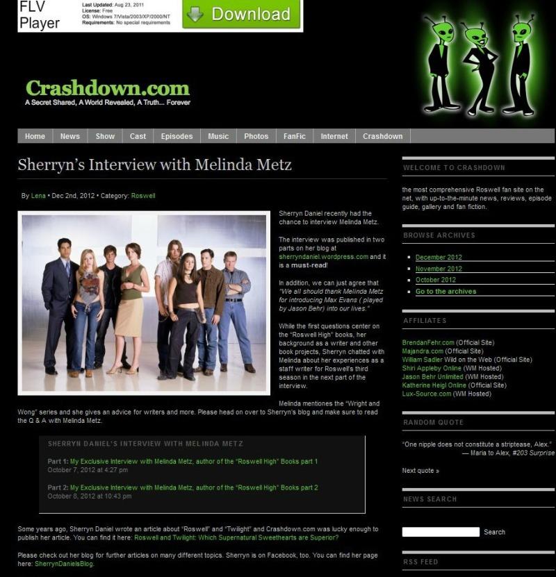 crashdown website