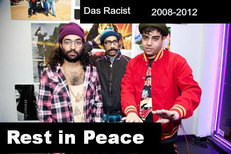 das racist died again