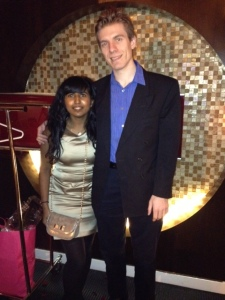 Ate at CoCo Sala on valentines day. We sat next to the world's most pretentious couple. Only in D.C!