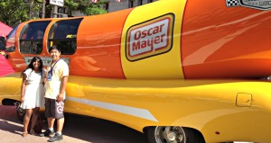Found the weinermobile at the Safeway BBQ festival.