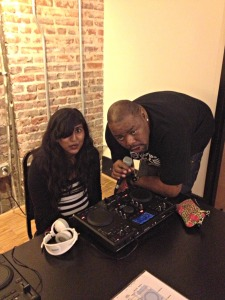 Biz Markie taught a DJ class! Thank you Living Social :)