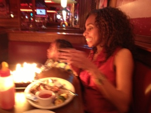 Besties b-day at Logan Roadhouse in Manasses VA