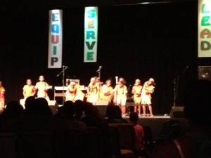 African Children's Choir in Manasses VA
