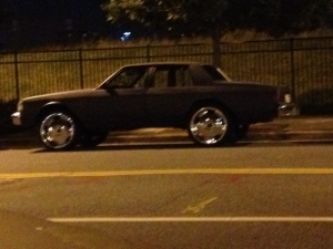 These types of cars are common in Fells Point, MD