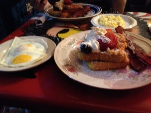Captain Crunch French Toast. Super yummy!