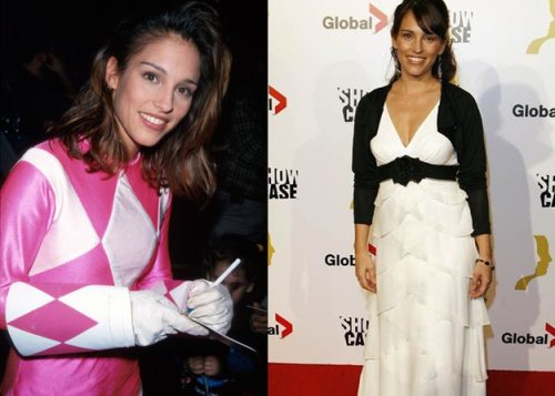 "Amy Jo Johnson (Original Pink Power Ranger) is an acclaimed director! Check out ""Bent"" and ""Lines"""