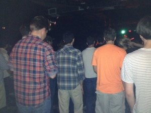 Every Indie concert I ever go to, men always wear plaid? WHY?  Are you going to sheer some sheep afterwards?
