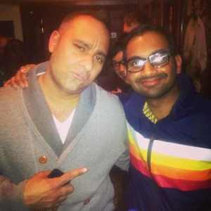 Russel Peters was JEALOUS of Aziz Ansari