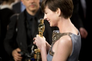 Anne Hathaway won an award for being Anne Hathaway