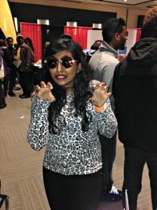Roar! I'm fierce in these shades!