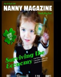 nanny magazine cover